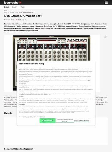 Bonedo.de D16 Group Drumazon