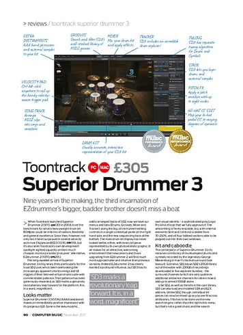 Toontrack Superior Drummer 3 – Thomann UK