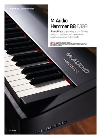 Future Music M-Audio  Hammer 88