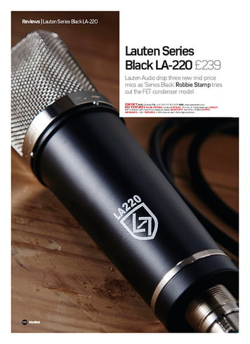 Future Music Lauten Series Black LA-220