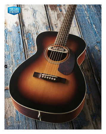 Total Guitar Guild M-240E Troubadour
