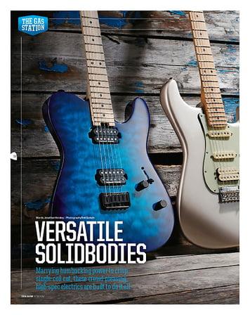 Total Guitar Fender Deluxe Stratocaster HSS