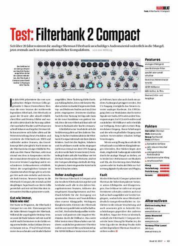 Beat Filterbank 2 Compact
