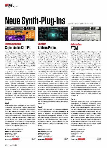 Beat Neue Synth-Plug-ins
