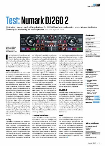 Beat Numark DJ2Go2