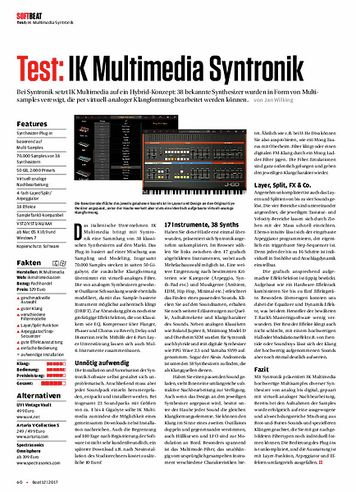 Beat IK Multimedia Syntronik