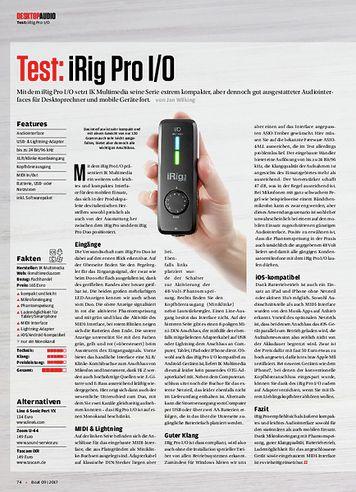 Beat iRig Pro I/O