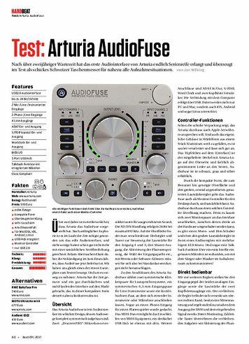 Beat Arturia AudioFuse