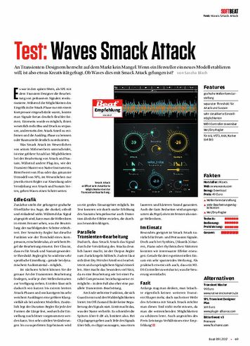 Beat Waves Smack Attack