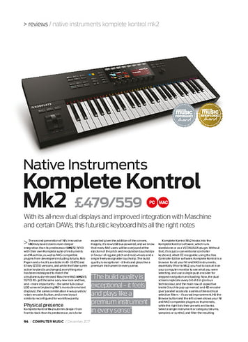 native instruments komplete kontrol s49 mkii review