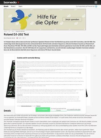 Bonedo.de Roland DJ-202