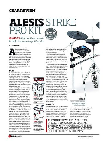 Rhythm Alesis Strike Pro Kit