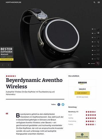Kopfhoerer.de Beyerdynamic Aventho Wireless Schwarz