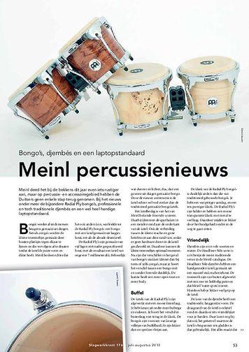 slagwerkkrant.nl Meinl percussienieuws - Test uit Slagwerkkrant 176
