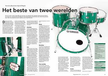 slagwerkkrant.nl Yamaha Absolute Hybrid Maple