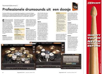 slagwerkkrant.nl Toontrack EZdrummer 2
