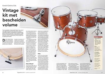 slagwerkkrant.nl Gretsch Catalina Club