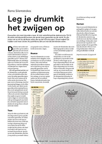 slagwerkkrant.nl Remo Silentstrokes