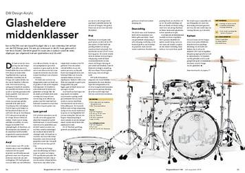 slagwerkkrant.nl DW Design Acrylic