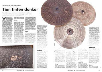 slagwerkkrant.nl Sabian Big & Ugly ridebekkens