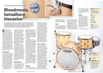 slagwerkkrant.nl PDP Concept Classic Wood Hoop