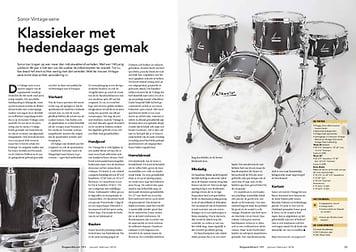 slagwerkkrant.nl Sonor Vintage-serie drums