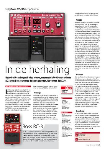 interface.nl Boss RC-30 Loop Station