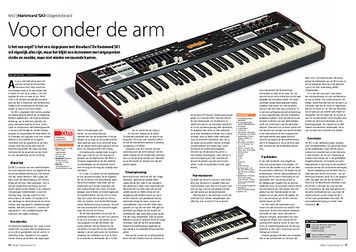 interface.nl Hammond SK1 stagekeyboard