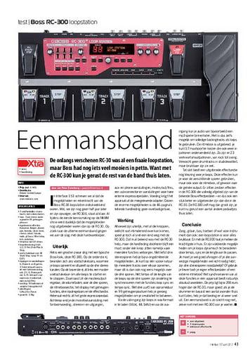 interface.nl Boss RC-300 loopstation