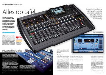 interface.nl Behringer X32 digitale mengtafel