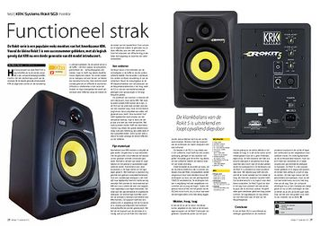 interface.nl KRK Systems Rokit 5G3 monitor