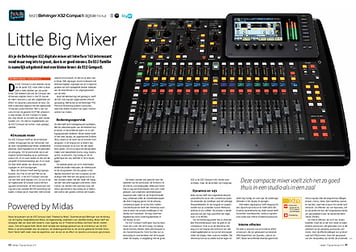 interface.nl Behringer X32 Compact digitale mixer
