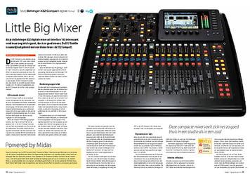 interface.nl Behringer X32 Compact digitale mixer