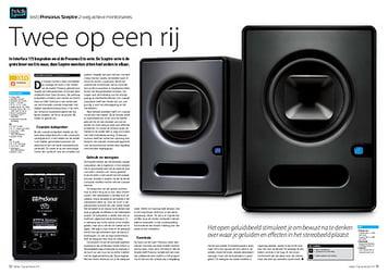 interface.nl Presonus Sceptre 2-weg actieve monitorseries