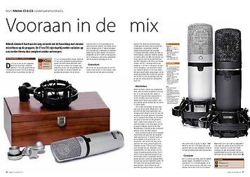 interface.nl Miktek C1 & C3 condensatormicrofoons