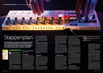 interface.nl Arturia BeatStep Pro controller & sequencer