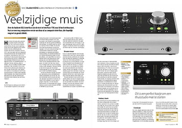 interface.nl Audient iD14 audio-interface en (monitor)controller