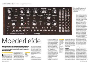 interface.nl Moog Mother-32 semi-modulair analoge synthesizermodule