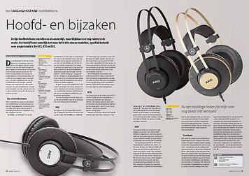 interface.nl AKG K52 K72 K92 hoofdtelefoons