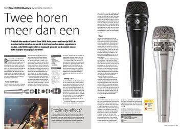 interface.nl Shure KSM8 Dualdyne dynamische microfoon