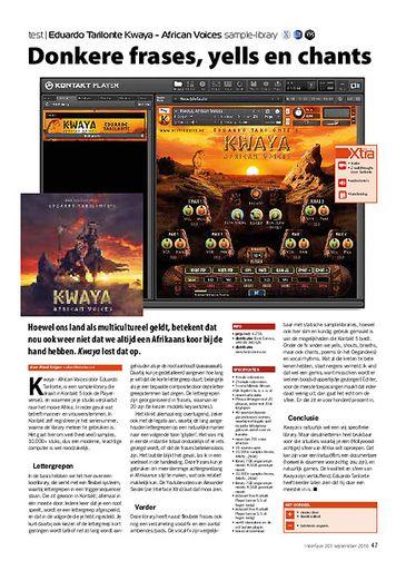interface.nl Best Service - Eduardo Tarilonte Kwaya - African Voices sample-library