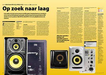interface.nl KRK Rokit RP4 G3, RP10-3 G3 monitors en 8s subwoofer