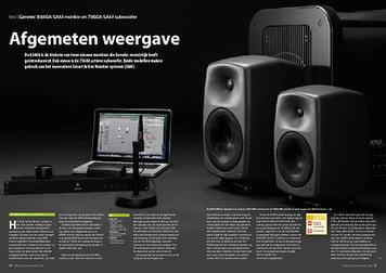 interface.nl Genelec 8340A SAM monitor en 7360A SAM subwoofer