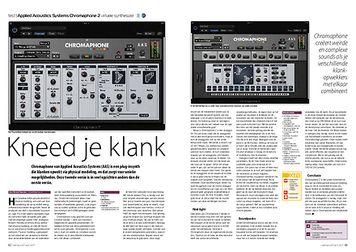 interface.nl Applied Acoustics Systems Chromaphone 2 virtuele synthesizer