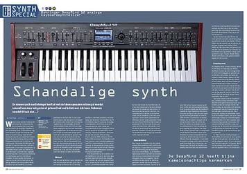 interface.nl Behringer DeepMind 12 analoge keyboardsynthesizer