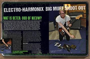 musicmaker.nl Big Muff Shoot Out!