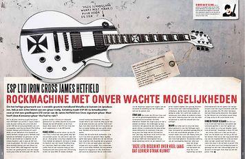 musicmaker.nl LTD James Hetfield Iron Cross