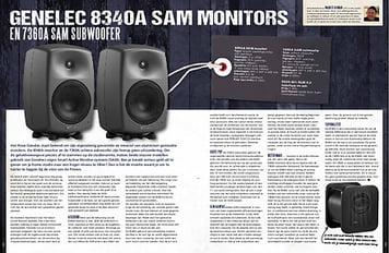 musicmaker.nl Genelec 8340-A monitor en7360-A Subwoofer