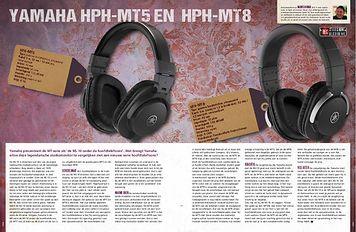 musicmaker.nl Yamaha HPH-MT5 en HPH-MT8