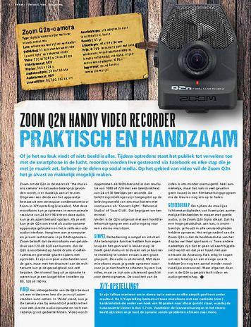musicmaker.nl Zoom Q2N video recorder